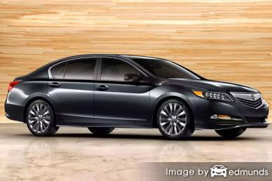 Insurance rates Acura RLX in Orlando