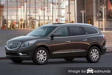 Insurance rates Buick Enclave in Orlando