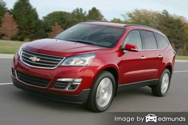 Discount Chevy Traverse insurance