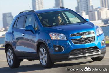 Insurance quote for Chevy Trax in Orlando