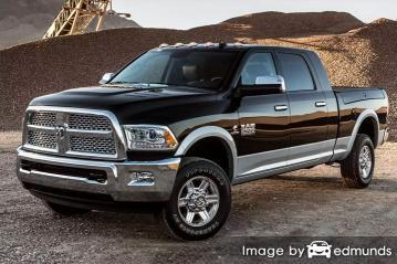 Insurance rates Dodge Ram 2500 in Orlando