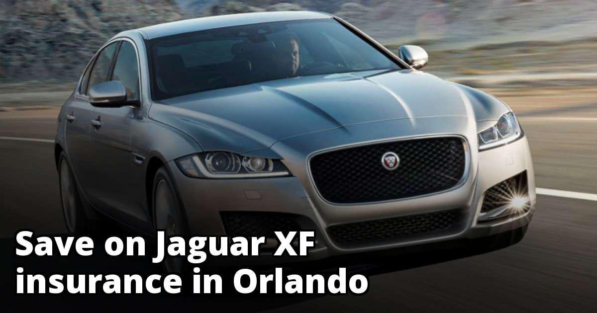 Jaguar XF Insurance Quotes in Orlando, FL