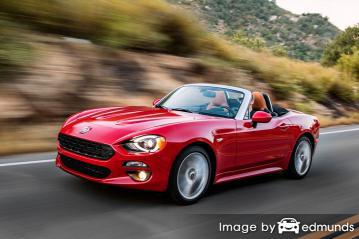 Insurance rates Fiat 124 Spider in Orlando