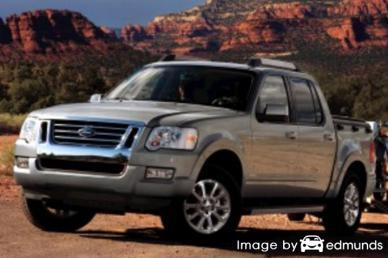 Insurance rates Ford Explorer Sport Trac in Orlando