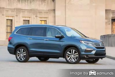 Insurance rates Honda Pilot in Orlando