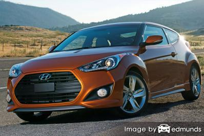 Insurance rates Hyundai Veloster in Orlando