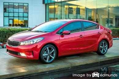 Insurance rates Kia Forte in Orlando