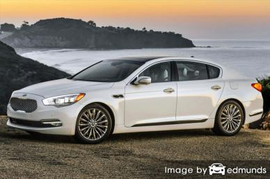 Insurance rates Kia K900 in Orlando