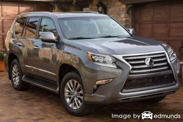 Insurance rates Lexus GX 460 in Orlando