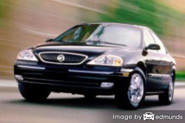 Insurance rates Mercury Sable in Orlando