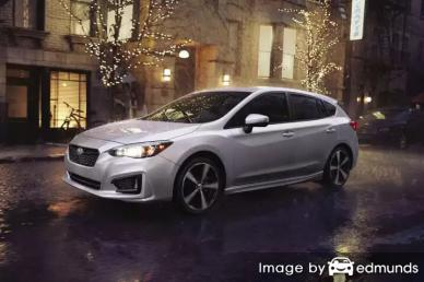 Insurance quote for Subaru Impreza in Orlando