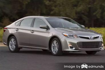 Insurance rates Toyota Avalon in Orlando