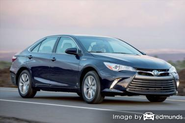 Insurance rates Toyota Camry Hybrid in Orlando