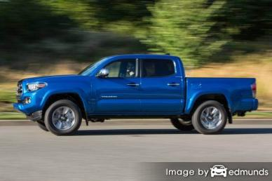 Insurance quote for Toyota Tacoma in Orlando