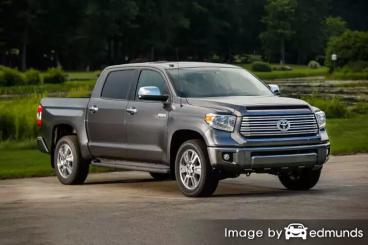 Insurance rates Toyota Tundra in Orlando